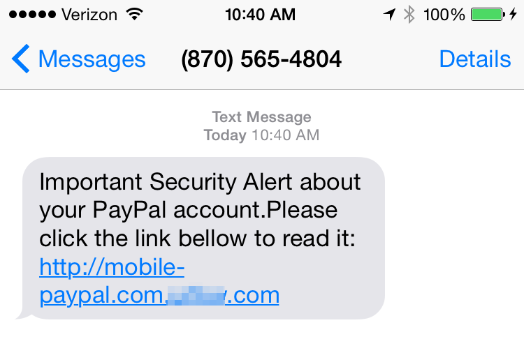 how to send a message to paypal